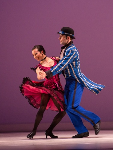 Madelyn Ho and Robert Kleinendorst in Paul Taylor's Sullivaniana. Photo: Yi-Chun Wu