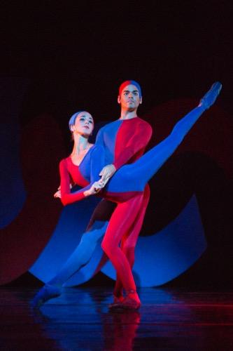 "Ellen Overstreet and Edward Gonzalez in one cast of Sarasota Ballet's production of ""Friday's Child"" from Ashton's Jazz Calendar. Photo: Yi-Chun Wu"