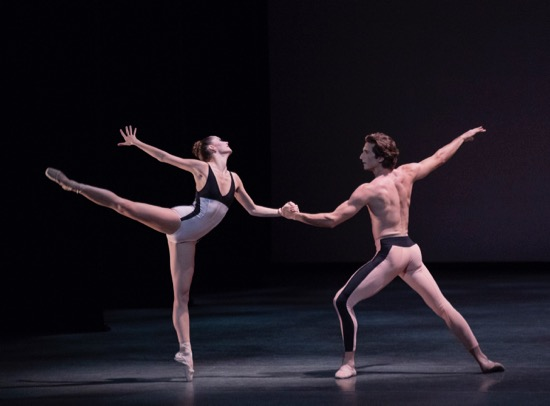 Unity Phelan and Zachary Catazaro in Lauren Lovette's For Clara. Photo: Paul Kolnik