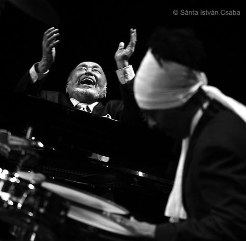 Eddie Palmieri at Jazz at Lincoln Center, Dec. 15 2012, photo by Sánta István Csaba