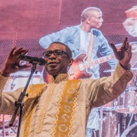 Youssou N'Dour on stage & screen, PoKempner photos