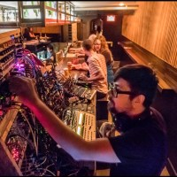 Synth and-sushi bar, Chicago (future jazz, present tense)