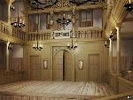 The Globe Gets A Companion Indoor Theatre, Lit By Candles