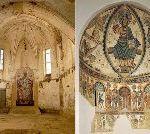 "Gothic Church Frescoes Destroyed In ""Restoration"""