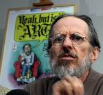 Legendary Cartoonist Robert Crumb Reacts To The Charlie Hebdo Massacre By Drawing Cartoons Of A Mohammed's Ass