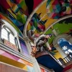 Abandoned Old Spanish Church Transformed Into Glorious Chagall-Meets-Diego-Rivera Skate Park