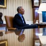 How Did President Obama Survive The White House? Books. He Says