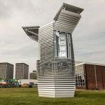 Dutch Artist Designs Outdoor Tower That Sucks In Smog