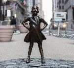 "Wall Street Firm That Paid To Erect ""Fearless Girl"" Sculpture Is Fined For Underpaying Women Employees"