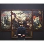 How Much Time Do People Really Spend Looking At The Art In Museums?