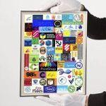Artist Sells Off Space On Original Rauschenberg Piece To Advertisers