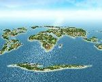 Dubai's Man-made Islands In The Map Of The World Is Resurrected