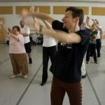Watching Mark Morris Dancers Teach Class For Parkinson's Patients