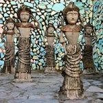 India's Most Popular Tourist Destination After The Taj Mahal Is This Outsider-Art Sculpture Garden
