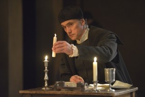 Ben Miles as Cromwell photo by Keith Pattison