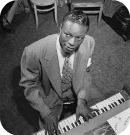Nat Cole at the piano