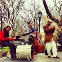 Autumn Leaves (and other tunes) In Central Park