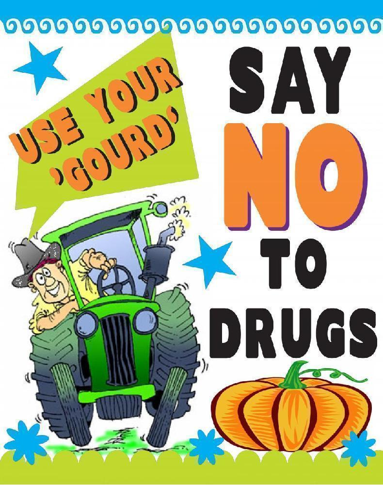 Create A Fall Poster Say No To Drugs Poster Ideas