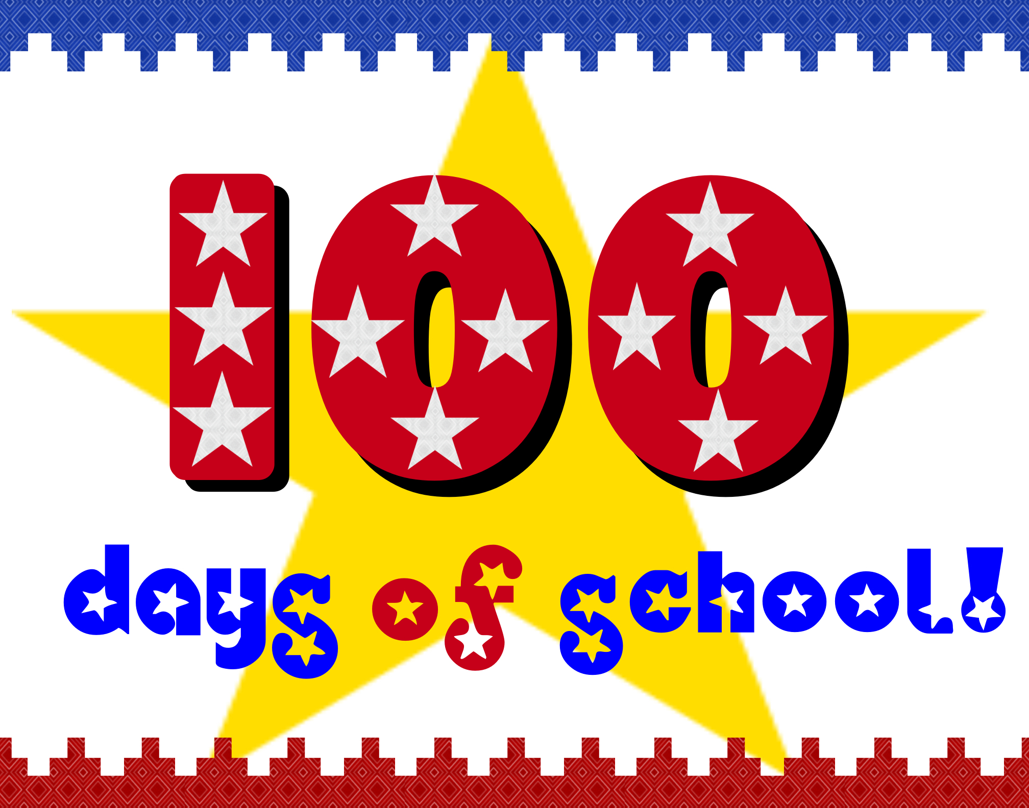 Create A 100 Days Of School Poster