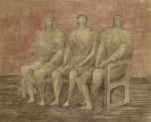 LOT 52 HENRY MOORE THREE SEATED WOMEN Estimate   400,000 — 600,000 USD  RITIRATO