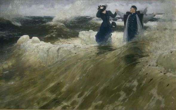 Il'ja Repin, Che vastità!, 1903 Olio su tela, 179 x 284,5 cm ©State Russian Museum, St. Petersburg