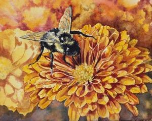 Bee-utiful by Quispamsis artist Helen Shideler