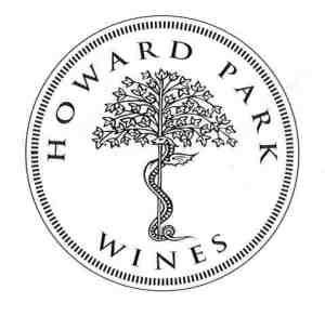 HP Logo - round stamp (b&w)