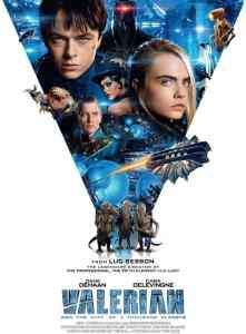 Valerian - movie poster - Arts MR