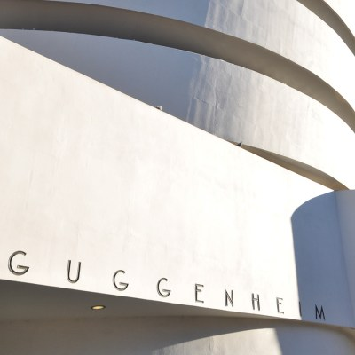 The Guggenheim Museum art tour