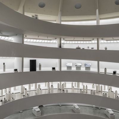Come on a Guggenheim Museum tour of Peter Fischli David Weiss: How to Work Better