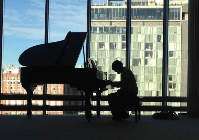 jazz music guided Whitney Museum tour Open Plan