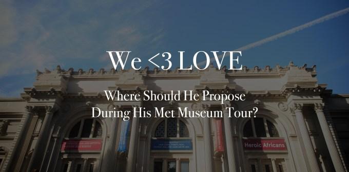 custom tailered MET tours NYC