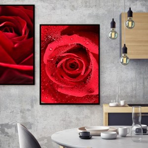 Pack 2 Tableaux d'art Red
