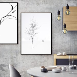 Pack 2 Tableaux d'art White