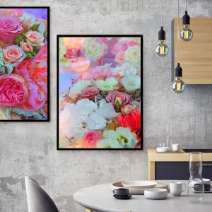 Pack de 2 Tableaux d'art Roses