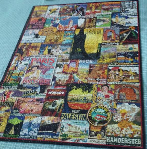 travel poster puzzle