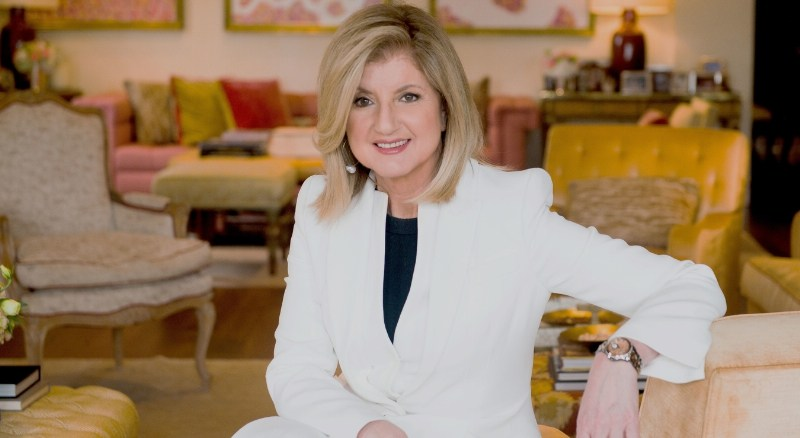 Arianna Huffington (PRNewsFoto/Thrive Global)