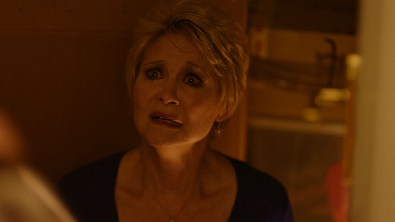 Dee Wallace Cupboard - Red Christmas Photo by Douglas Burdorff
