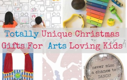 Totally Unique Christmas Gifts for Arts Loving Kids