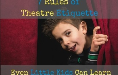 7 Rules of Theatre Etiquette Even Little Kids Can Learn