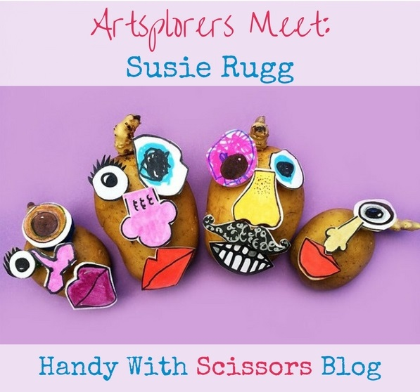 Artsplorers Meet: Susie Rugg, Handy With Scissors