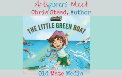 Artsplorers Meet: Chris Stead, Author of Digital Books for Children