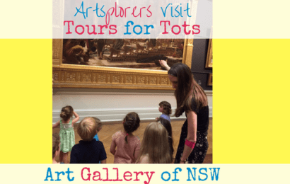Tours for Tots at the Art Gallery of New South Wales