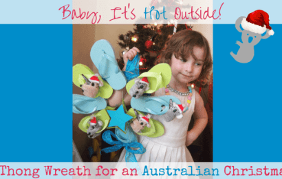 Baby, It's Hot Outside!: Thong Wreath For an Australian Christmas