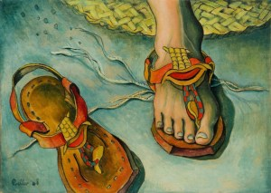 Lot 233 - Alexis Preller, Archaic Sandals, R200 000 – 300 000