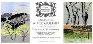 CELEBRATING ALICE - An exhibition paying homage to Alice Goldin's diverse body of prints.