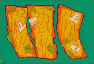 Genesis - Adam by Walter Battiss