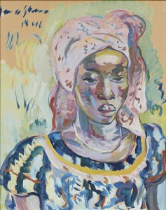 Irma Stern Congolese Woman, 1946. Images courtesy of Nina Lieska | Repro Pictures