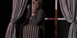 Fiona Ramsay in Blonde Poison. Photo: CuePix / Megan Moore