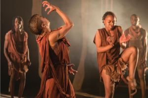 Directed and choreographed by Luyanda Sidiya, Siva is performed by the Vuyani Dance Theatre. Picture credit: Cue.